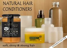 Natural Hair conditioners