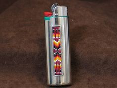 Beaded Native American Bic Lighter Cover