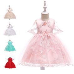57482efd04a5c 子どもドレス リボン飾り キッズドレス ジュニアドレス お姫様 ワンピース イベント セレモニー 子供服 ホワイト グリーン