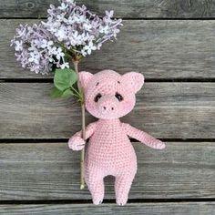 Свинка Хрюля амигуруми   Схемы игрушек амигурми