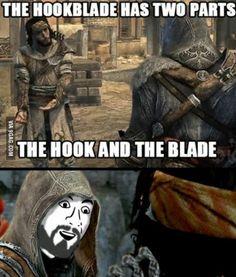 U DON'T SAY! hahahahaha Assassins creed for the win Video Game Memes, Video Games Funny, Funny Games, Gamer Humor, Gaming Memes, You Dont Say Meme, Assassins Creed Quotes, Xbox, Playstation