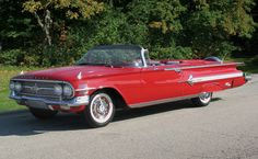 1960 Chevrolet Impala Convertible for summer cruising