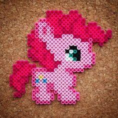 MLP Baby Pinkie Pie perler beads by halemark.handcrafts