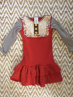Check out this listing on Kidizen: Persnickety Red Lou Lou Dress  #shopkidizen