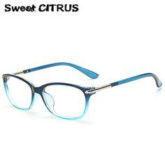 22506b2dcb5 Sweet CITRUS Brand Designer Eye Glasses Frame Optical Glasses For Women Men  Eyeglasses frames armacao de oculos de grau Eyewear-in Eyewear Frames from  Men s ...