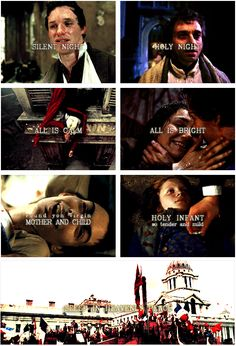 Les Mis + Silent Night MY FEELS