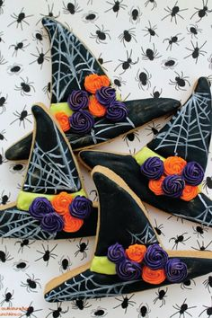 We've got the perfect dessert recipe for your Halloween table—it's these spooky Witch Hat Cookies! Serve them up as homemade gift goodies for all your party guests.