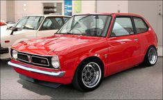 Honda Civic #red #classic #1st Gen  ♠... X Bros Apparel Vintage Motor T-shirts, New and Classic Honda Civics, VTECH cars,  Great price… ♠♠