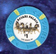 Caesars Palace Las Vegas strip casino poker chip #SYLink