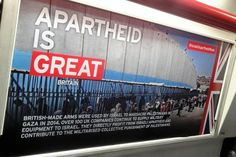 """Controversial pro-Palestinian posters put up on the Tube over the weekend were unauthorised and an """"act of vandalism"""", transport chiefs say. Up to 150 posters about Palestinian treatment at the hands of Israel appeared on London Underground trains across the capital yesterday, making what the London Jewish Forum called """"awful smears"""". These posters are """"subvertisements,"""" …"""