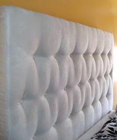 DIY Tufted Headboard | Falling Down House
