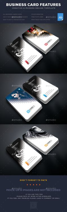 Photography Business Card  — PSD Template #designer #abstract • Download ➝ https://graphicriver.net/item/photography-business-card/18218367?ref=pxcr