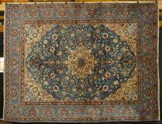 4253 - Semi Antique Persian Kerman Carpet June Estate Auction | Official Kaminski Auctions