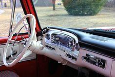 Interior custom cab 1966 F 100