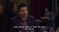 Ted Mosby, Himym, How I Met Your Mother, Look At You, Movies And Tv Shows, Movie Tv, Tv Series, It Hurts, Cinema