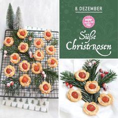 Kekserl-Adventskalender: 24 Keksrezepte zum Downloaden - sugar&rose Pineapple, Fruit, Food, Handy Tips, Advent Calenders, Pine Apple, Essen, Meals, Yemek
