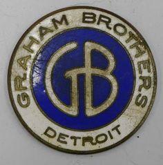 Graham Brothers Car Badge
