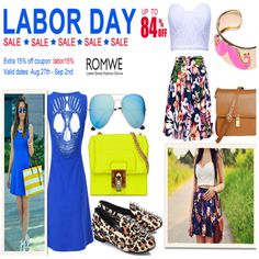 LABOR DAY SALE: Save Up to 84% + An Extra 15% Off on Your Order. Get More Latest ROMWE coupon codes at PlusSizesSavvyMom.