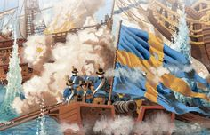 Swedish marines in combat Military Art, Military History, Marines In Combat, Swedish Army, Early Modern Period, Baroque Art, Naval History, Napoleonic Wars, Modern Warfare