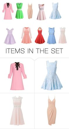 """dresses"" by babygirlchelle on Polyvore featuring art"