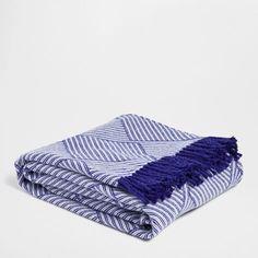 Diamonds Pattern Blanket - Throws - Decor & pillows | Zara Home United States