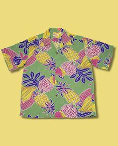 Vintage Hawaiian Shirts 1930's - 1950's by Sun Surf
