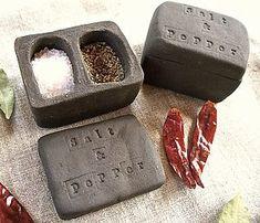 Ceramic Salt And Pepper Pot - tableware