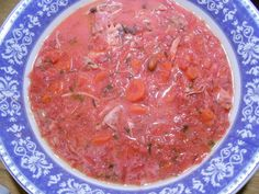 Zupa,barszcz czerwony,buraki,fasola,kurczak,wołowina Salsa, Mexican, Ethnic Recipes, Food, Essen, Salsa Music, Meals, Yemek, Mexicans