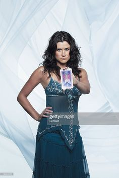 Scottish television and theatre actress Dawn Steele photographed in... Foto di attualità   Getty Images
