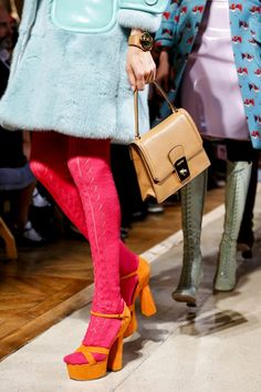 WILDBINDI: Miu Miu 2014 S/S ~ love the tights!