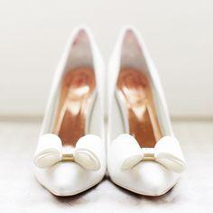 Helena's gorgeous @ted_baker wedding shoes    #Regram via @rachrose