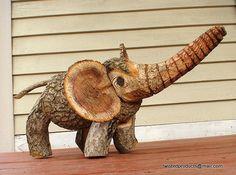 Twistmystick Hand Crafted Elephant.