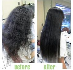 1000 Images About Before Amp After Chemical Straightening