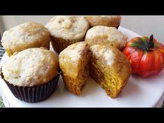 Muffins de calabaza integrales, sanos y deliciosos - YouTube
