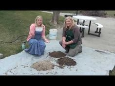 SQUARE FOOT GARDENING 101 DAY FOUR: The Soil-Mel's Mix!