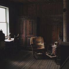 Garnet ghost town, Montana by kevinrussmobile, via Flickr