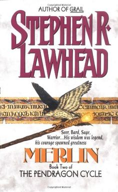 Merlin (The Pendragon Cycle , Book 2) by Stephen R. Lawhead http://www.amazon.com/dp/0380708892/ref=cm_sw_r_pi_dp_IqROub0VP9NND