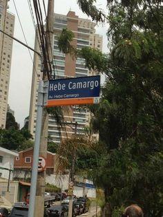 Hebe Camargo ganha avenida com seu nome no Rio de Janeiro