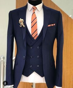 Groom Reception Blazer For Men Wedding, Blue Suit Wedding, Wedding Suits, Mens Casual Suits, Mens Fashion Suits, Mens Suits, Marriage Suits, Blue Slim Fit Suit, Tuxedo For Men