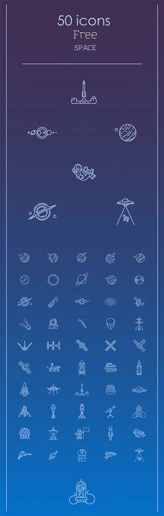 Space icons set on Behance Web Design, Icon Design, Logo Design, Graphic Design, Flat Design, 1 Tattoo, New Tattoos, Tatoos, Icons Web