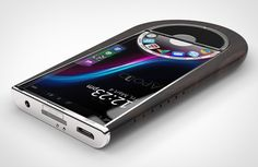 The APOLLO 1 smartphone is the latest in the nature-meets-tech trend that elegantly merges raw wood with ultramodern electronics. Its touchscreen display is delicately integrated into