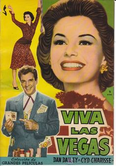 VIVA LAS VEGAS. Peliculas Famosas, nº 22 (Version completa). Dan Dailey, Cyd Charisse. (Cine - Revistas - Fotogramas)