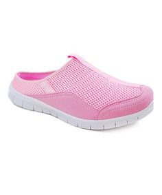 This Pink Mesh Sneaker by Crown Kicks is perfect! #zulilyfinds
