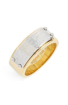 MARC BY MARC JACOBS 'Standard Supply' Band Ring available at #Nordstrom