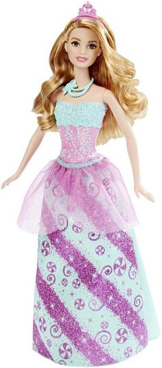 Amazon.com: Barbie Princess Doll, Candy Fashion: Toys & Games