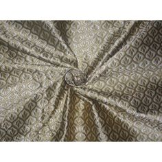 Brocade Fabric Cream x Gold Color Brocade Fabric, Gold, British Isles, Cream, Home Decor, Women, Creme Caramel, Decoration Home, Room Decor
