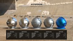 ArtStation - Material Studies: Metals, Jarrod Hasenjäger