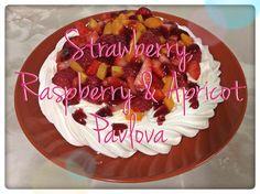 Strawberry, Raspberry & Apricot Dessert #Summer #Dessert
