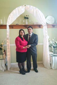 Ernesto & Lina se casaron! 8-2-15 #WeddingOfficiantIndianapolis #getmarriednow