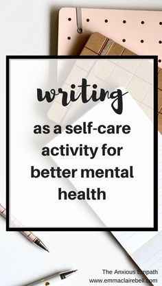 One of the most time and cost-effective self-care strategies is writing or journalling, and as someone with chronic anxiety, I've found this strategy really effective. Discover the science behind writing as a self-care activity, how writing can improve your mental health, tips to guide you through the writing as self-care process and, as a bonus, some writing prompts to help get you started.